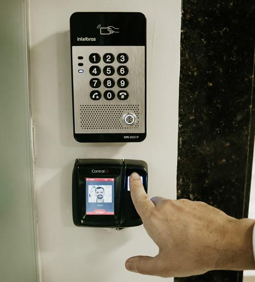 biometria para acesso de portaria remota